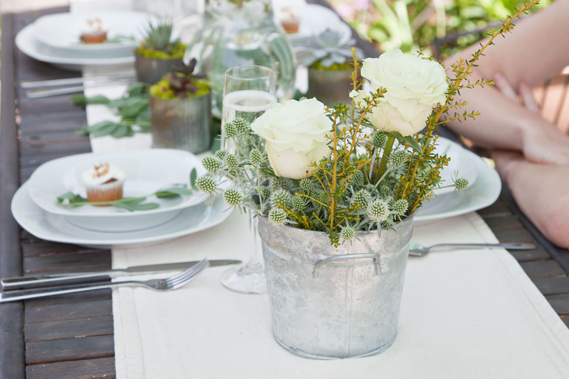 Soft White Summer Wedding Inspiration